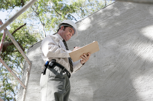 Building inspector notes - Roof Inspection San Diego