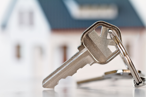 Key and House in the Blurred Background - San Marcos home inspection