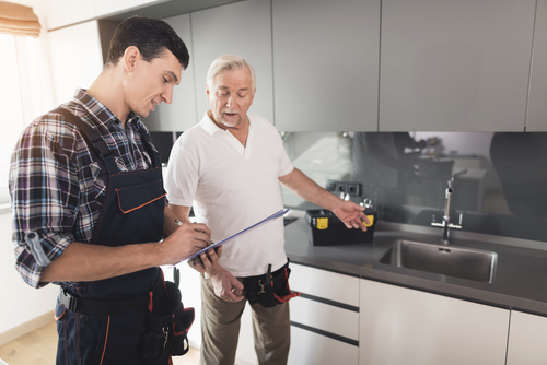 who attends a home inspection