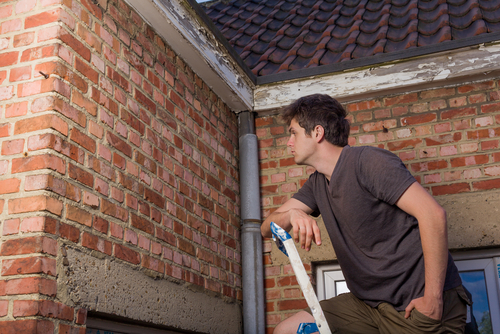 What should a seller do before a home inspection?