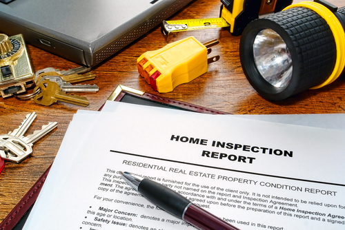Can the seller be at the home inspection?