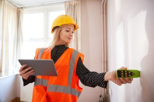 How does a seller prepare for a home inspection